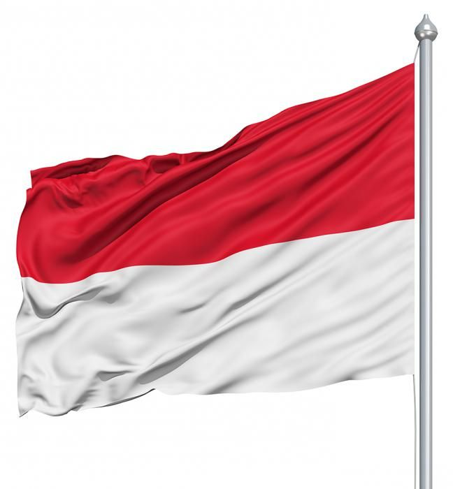 прапор індонезії фото