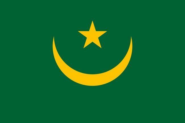 прапор Мавританії