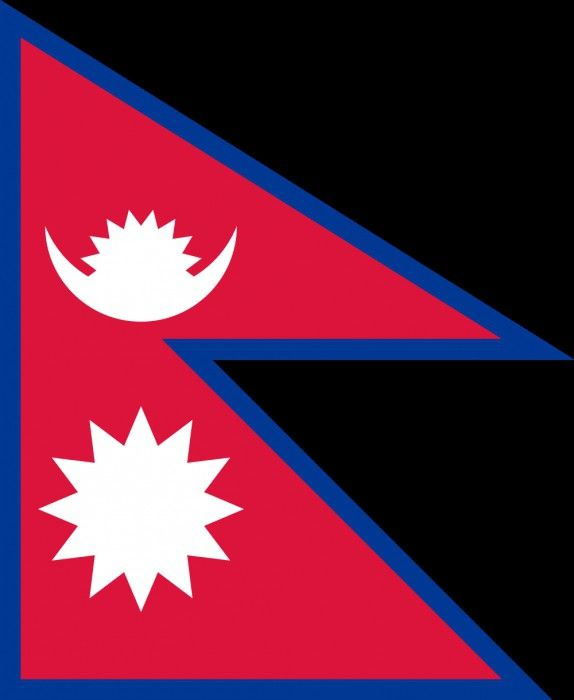 Фото - Прапор Непалу: вид, значення, історія
