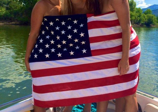 США, прапор, фото