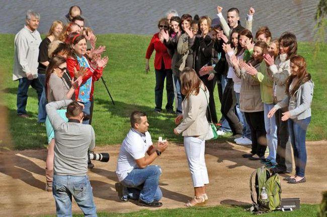Фото - Флешмоб на весілля: кращі ідеї