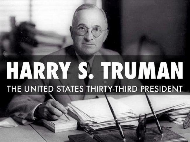 Гаррі Трумен президент США