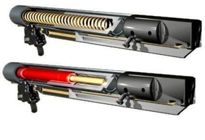 Фото - Газова пружина для пневматики. Пневматична гвинтівка з газовою пружиною