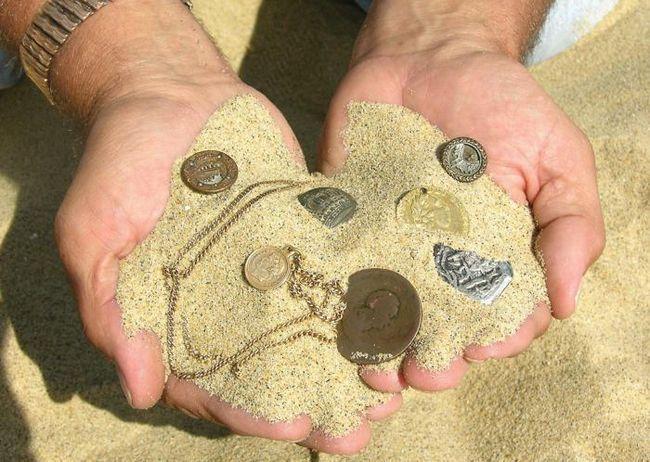 , Де шукати монети металошукачем у ленінградській області