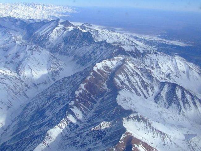найвища гора кордильєри