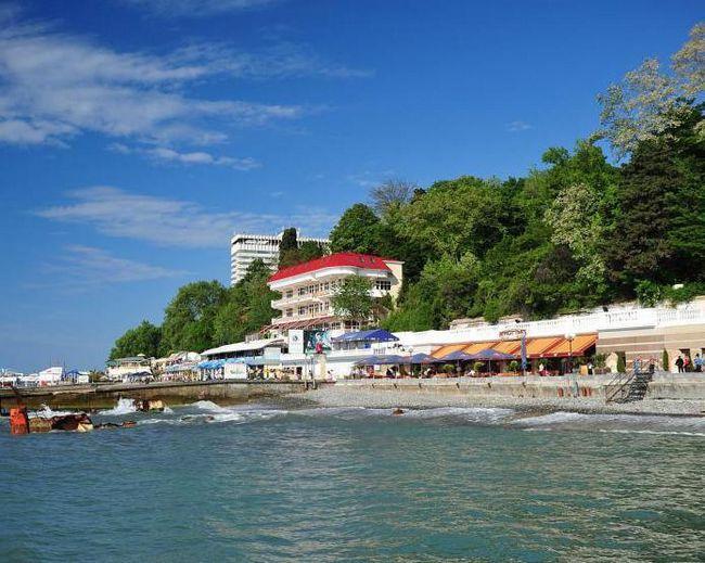 Фото - Де в сочи піщаний пляж і чисте море?