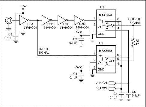 генератор прямокутних імпульсів