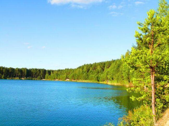 Фото - Блакитні озера, чернігівська область. Відпочинок в Україні