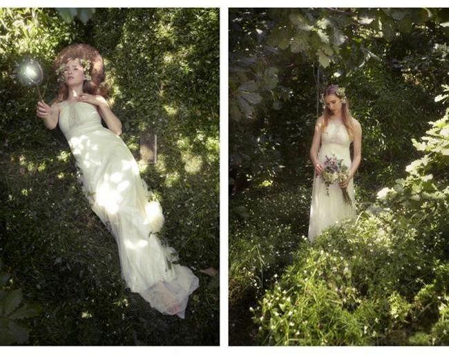 Фото - Ідея для фотосесії в лісі. Фотосесія в лісі влітку і восени - красиві ідеї для вдохновления