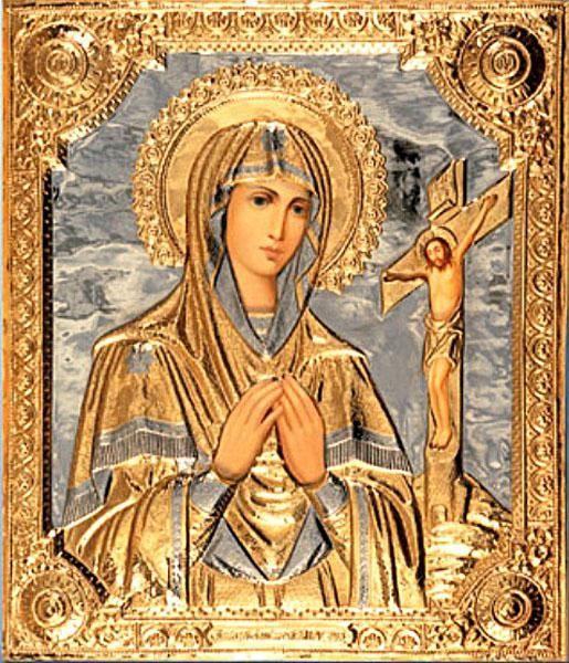 ікона Охтирська Божа Мати