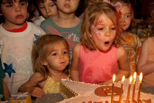 конкурси на день народження дитини 5 років
