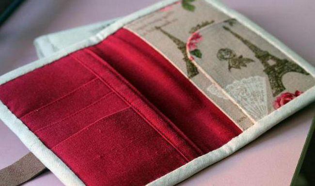 виготовлення обкладинки для паспорта