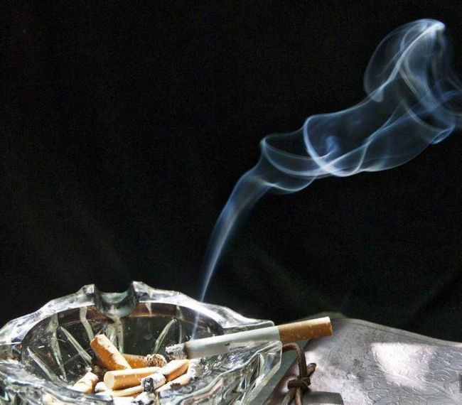 до чого сняться сигарети