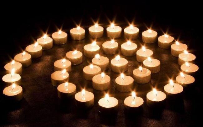 сон церква свічки