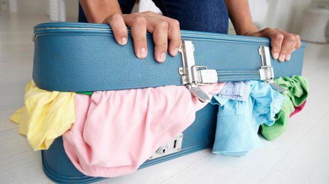 як упакувати валізу