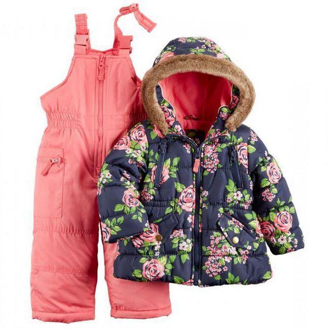 дитячий зимовий одяг