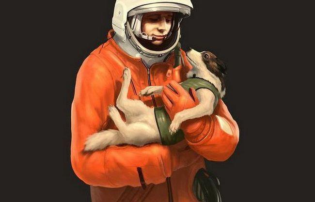 лайка собака космонавт