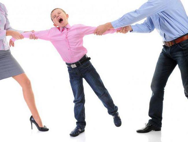 процедура розлучення з дитиною