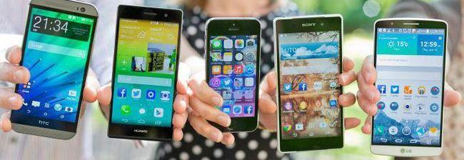 смартфони з діагоналлю 6 дюймів
