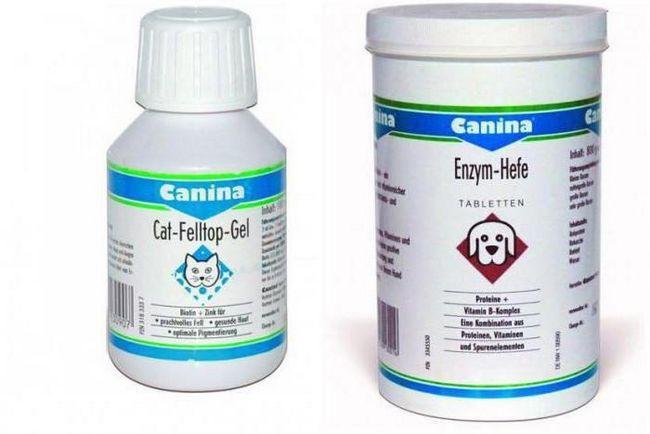 вітаміни для поліпшення вовни собак