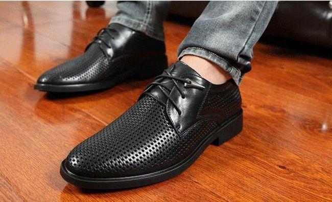 класична чоловіче взуття