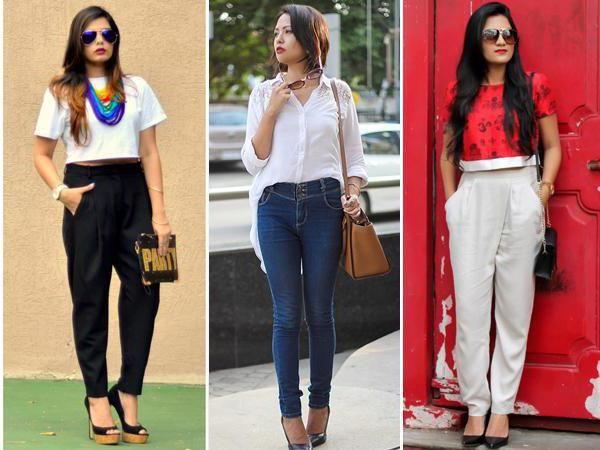 штани із завищеною талією з чим носити