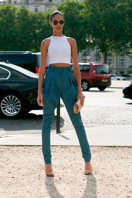 класичні брюки із завищеною талією
