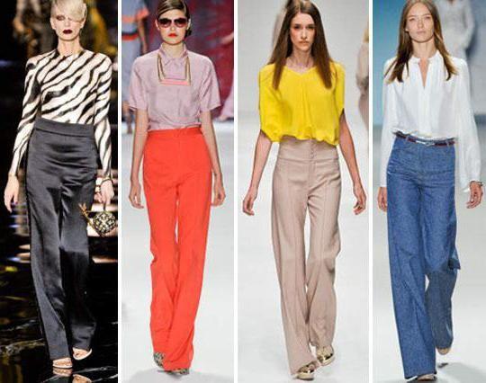 штани із завищеною талією