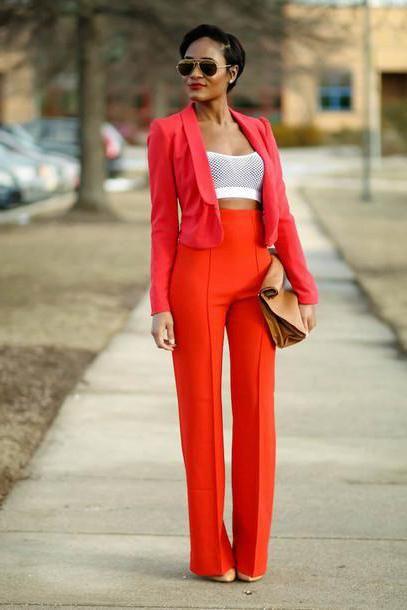 жіночі брюки із завищеною талією
