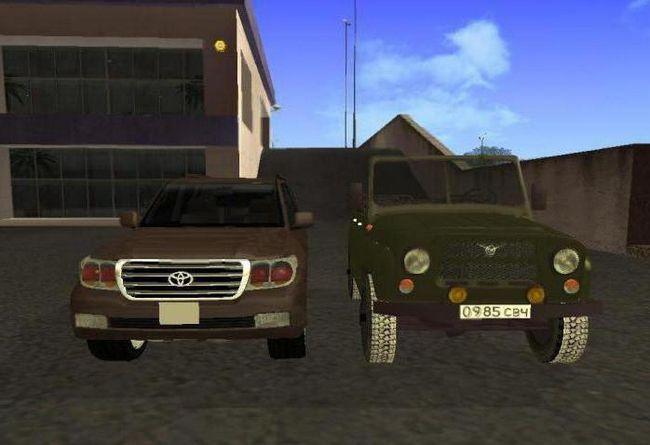 Фото - Коди на гта на російські машини та їх використання