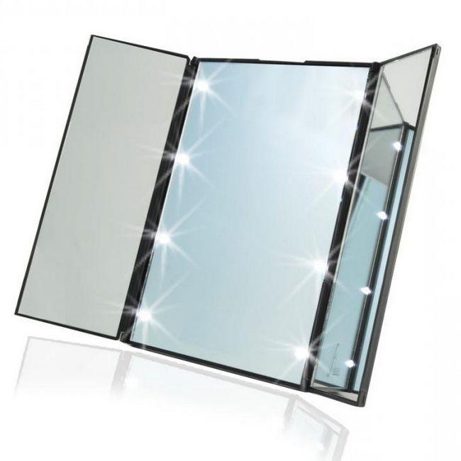 косметичні дзеркала зі збільшенням