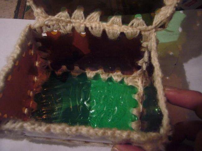 скринька з пластикових пляшок своїми руками майстер клас