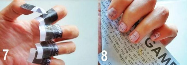гарний манікюр на маленькі нігті