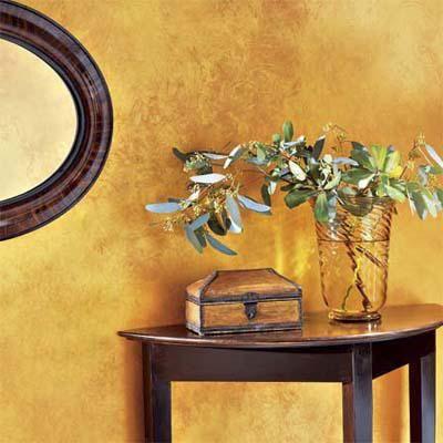 види декоративної фарби для стін
