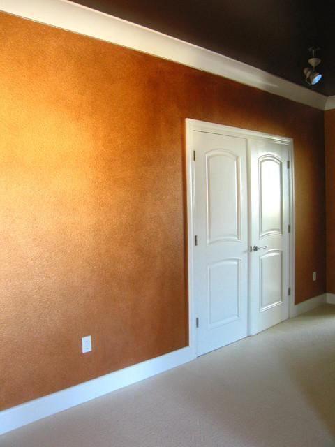 як наносити декоративну фарбу на стіни