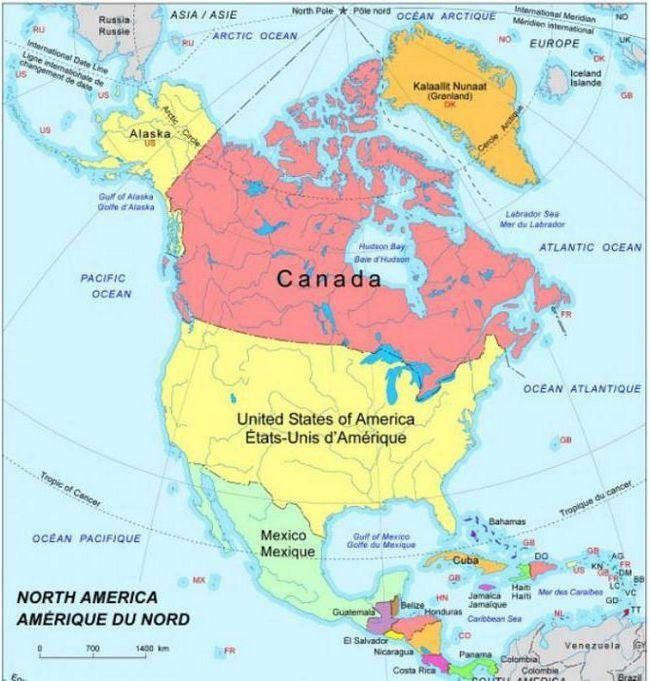Фото - Короткий опис північній америки: населення, його чисельність, щільність і історія