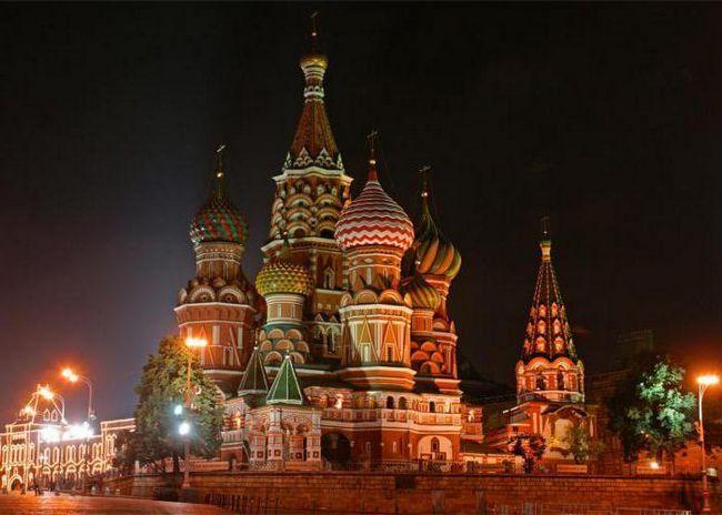 Фото - Короткий опис Собор Василя Блаженного: твір