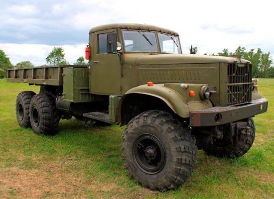 Фото - КРАЗ-255Б - технічні характеристики. Кременчуцький автомобільний завод