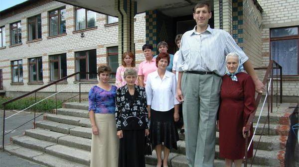 Фото - Леонід Стадник - найвища людина в світі: зростання, фото