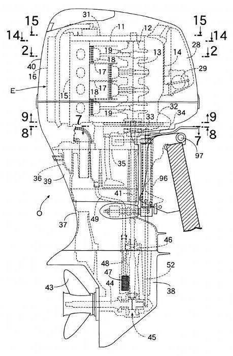 саморобний підвісний човновий мотор