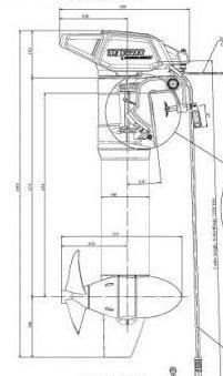 саморобні човнові мотори з тріммера