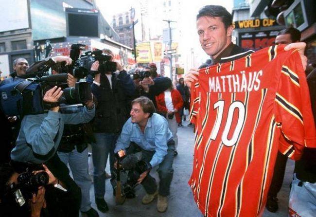 Лотар Маттеус одружився з російської