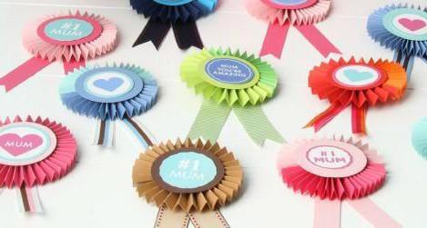медалі для мам в дитячому садку