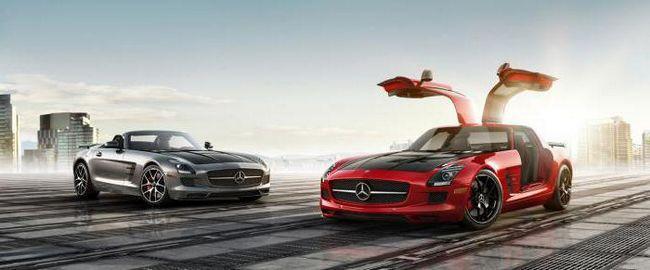 Фото - Mercedes-benz sls amg - характеристика найпотужнішого німецького спорткара