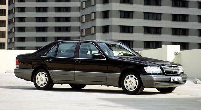 Фото - Mercedes-benz w140: історія легендарного кузова. Характеристика автомобіля, що став класикою німецького автопрому