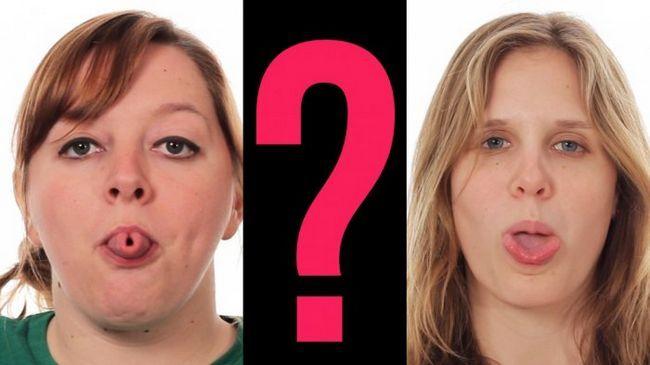 Фото - Міф про здатність згортати мову в трубочку остаточно розвінчаний!