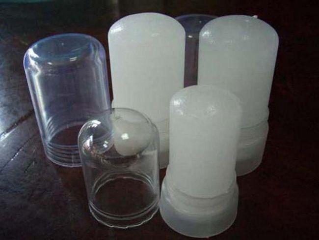 Мінеральний дезодорант кристал відгуки