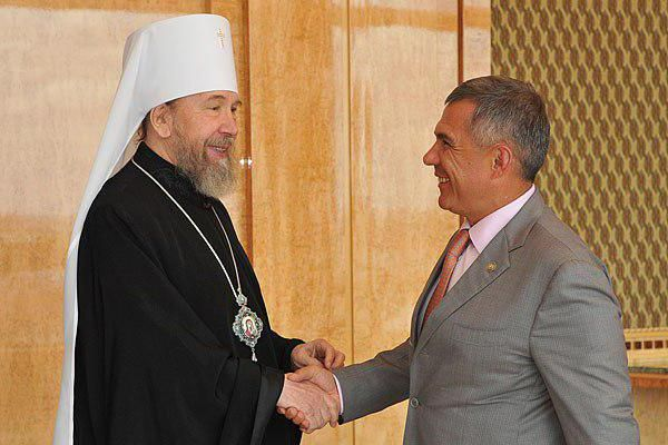 митрополит Анастасій казанський відсторонений