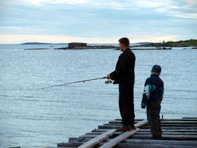 Фото - На риболовлю на біле море. Рибні місця