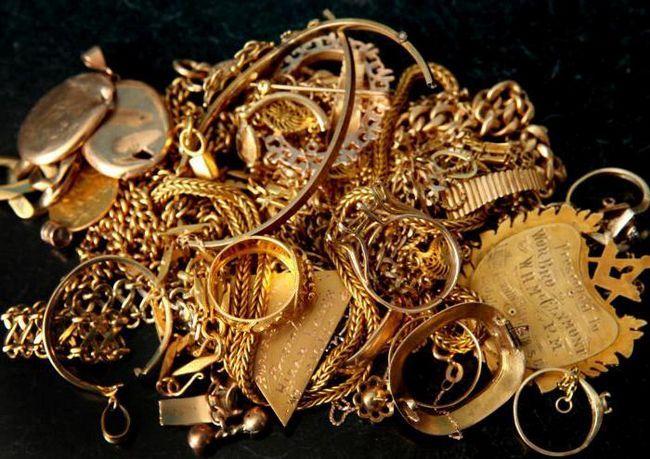 сонник знайти золоті прикраси